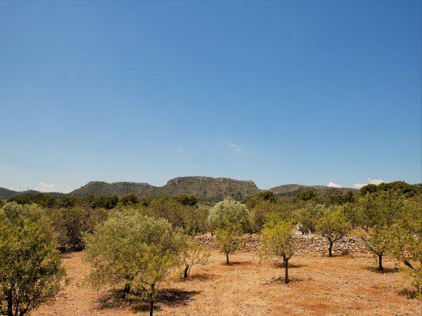 Uitzicht op de bergen bij Vakantiehuis Casa Espinal in Spanje, te huur via 123casitas