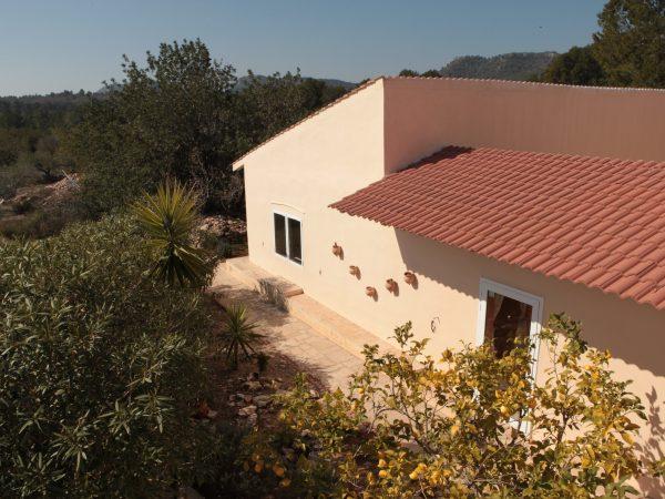 Zijaanzicht van Vakantiehuis Casa Espinal in Spanje, te huur via 123casitas